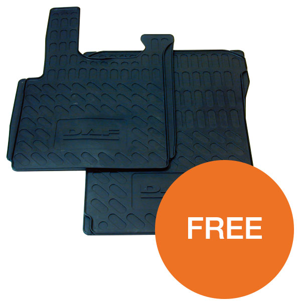 Free rubber floor mats
