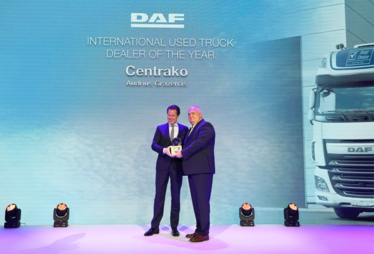 DAF Used Trucks Dealer of the Year Centrako