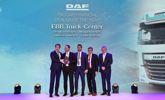PACCAR Financial Dealer of the Year EBB Truck Center