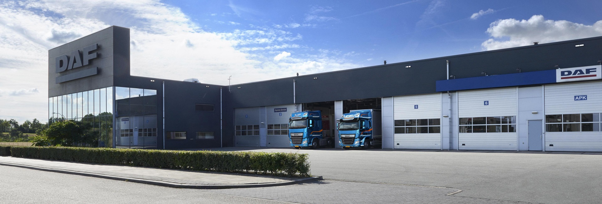 DAF dealer network